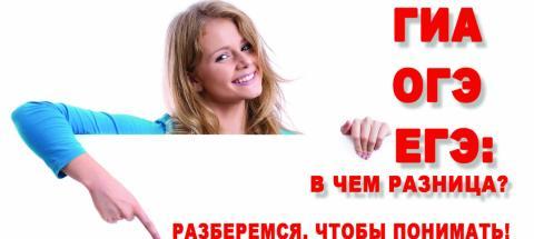 Центр подготовки к ЕГЭ, ОГЭ - курсы в Москве, Ново-Переделкино: ГИА, ОГЭ и ЕГЭ: в чем разница? Разберемся, чтобы понимать